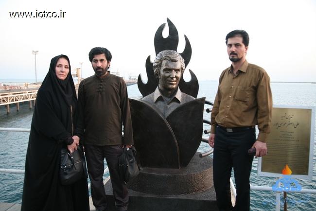 رونمایی از تندیس شهید علی اصغر موسی پور 24