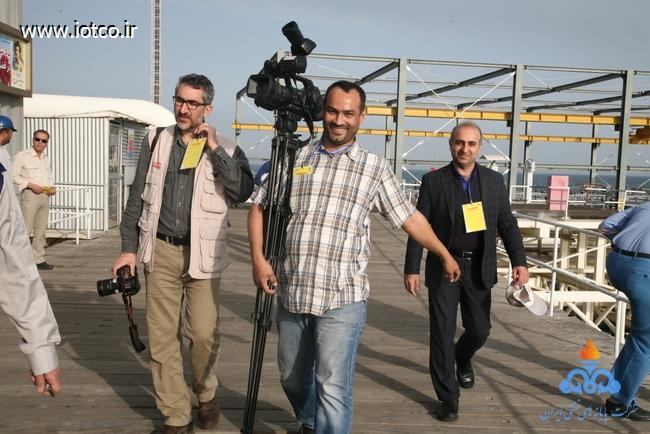 خبرنگاران رسانه های خارجی 9
