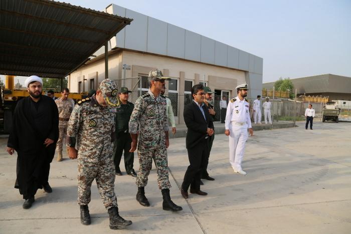 بازدید فرماندهی نیروی دریایی ارتش 3