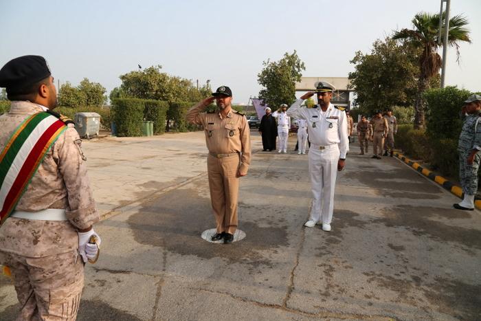 بازدید فرماندهی نیروی دریایی ارتش 13