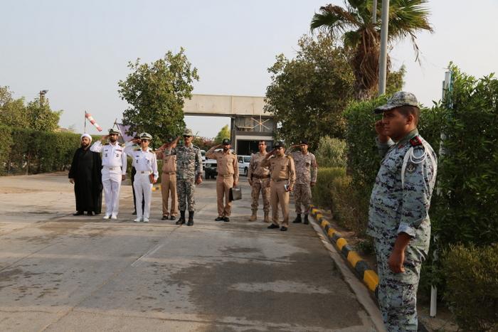 بازدید فرماندهی نیروی دریایی ارتش 14