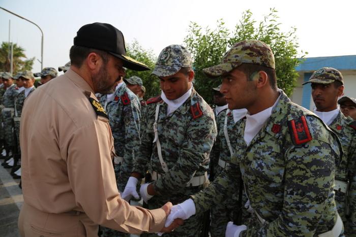 بازدید فرماندهی نیروی دریایی ارتش 21