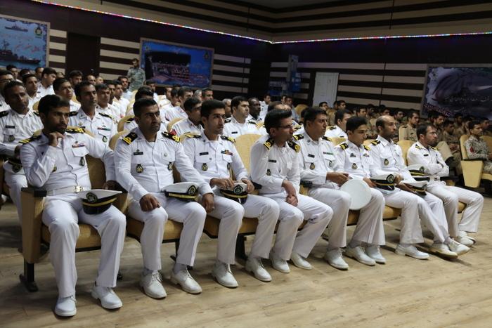 بازدید فرماندهی نیروی دریایی ارتش 34