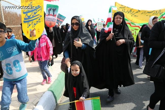 راهپیمایی 22 بهمن  45