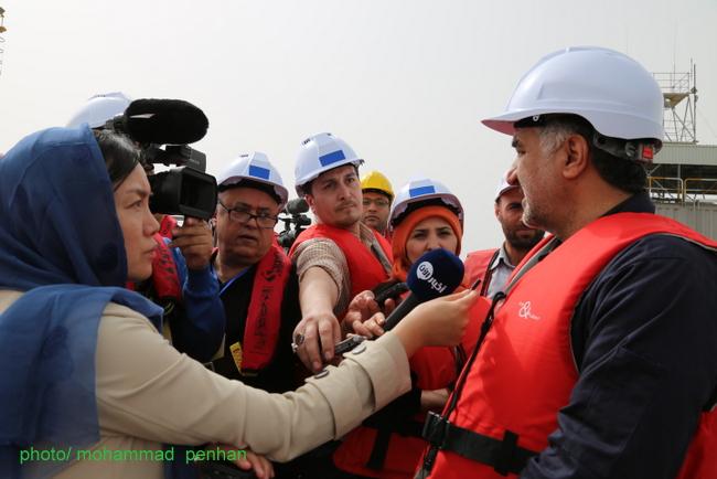 خبرنگاران رسانه های خارجی 18