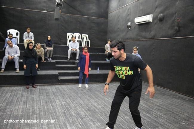 کارگاه بازیگری آرش عباسی 12