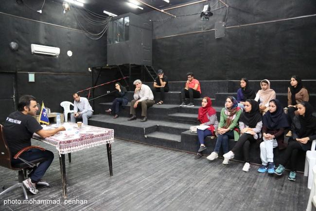 کارگاه بازیگری آرش عباسی 15