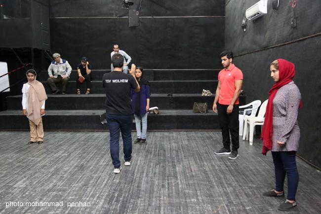 کارگاه بازیگری آرش عباسی 17
