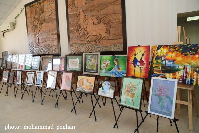 نمایشگاه هنرجویان  12
