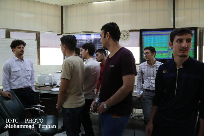 بازدید دانشجویان نفت 19