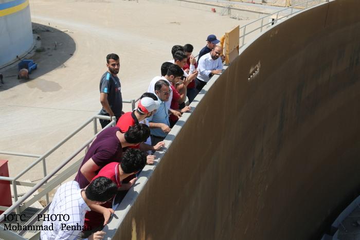 بازدید دانشجویان نفت 20