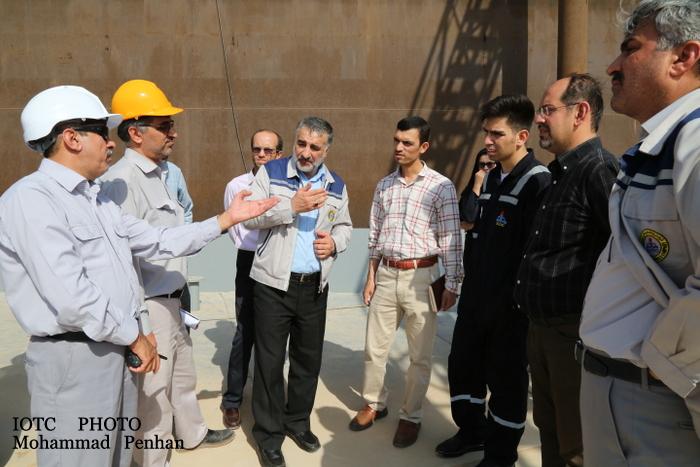 بازدید از پایانه نفتی خارگ 33