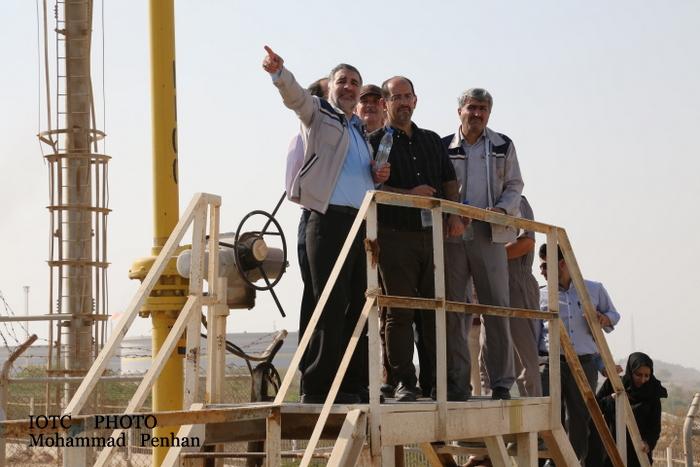 بازدید از پایانه نفتی خارگ 34