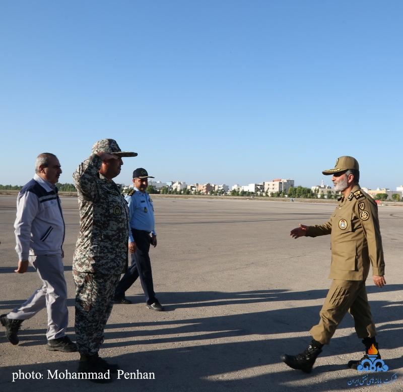 بازدید فرمانده ارتش 1