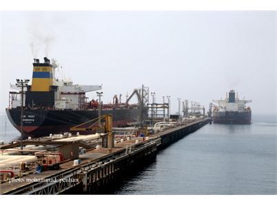 آمادگی افزایش ظرفیت صادرات نفت خام/ پهلودهی سالانه 800 نفتکش در پایانه نفتی خارگ